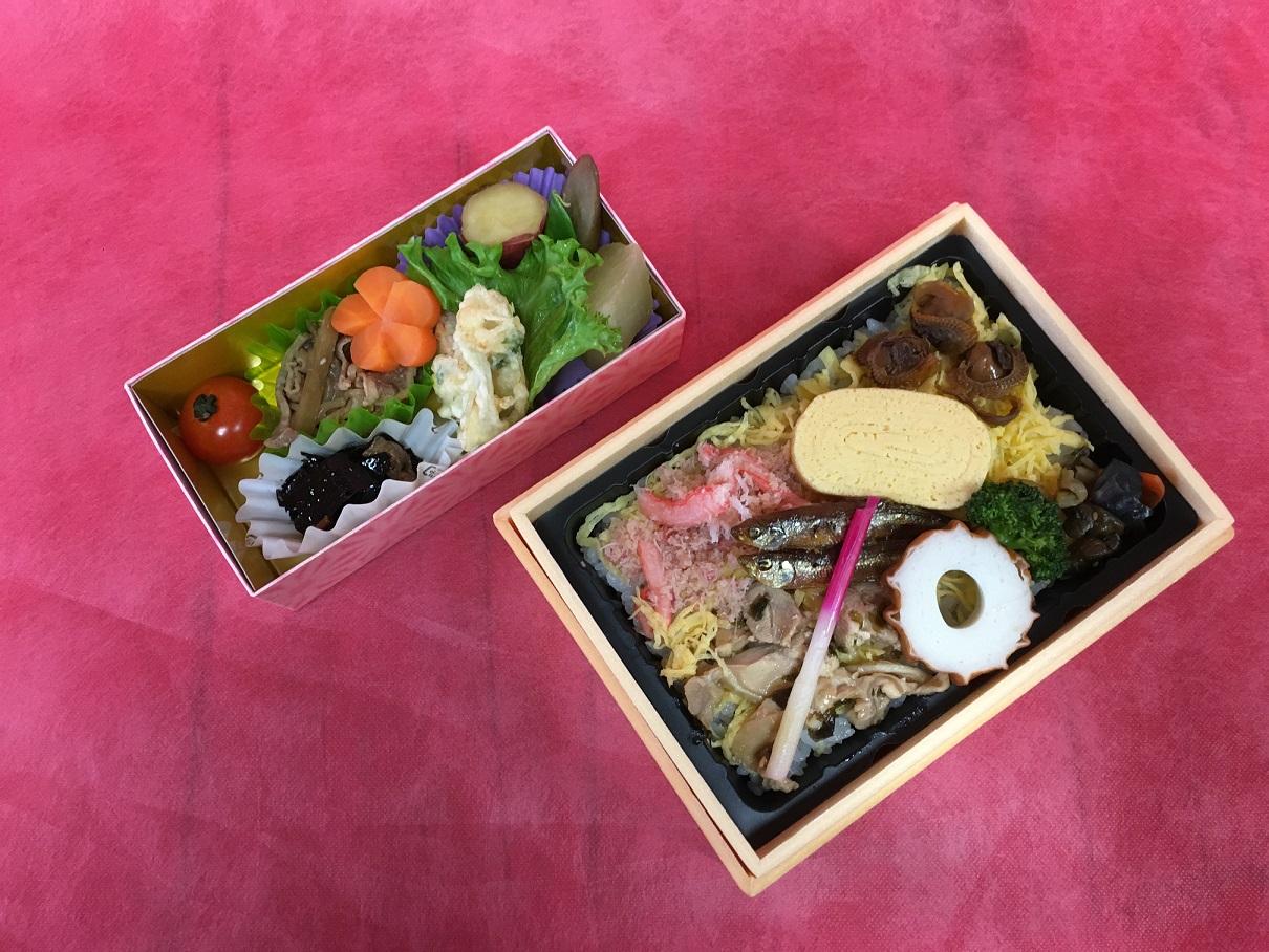 松江名物「蒸し寿司」(おかず付)